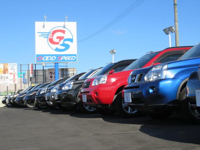 SUV・ミニバン等常時130台以上の在庫を展示中。 取り扱い車種以外も購入可能です。