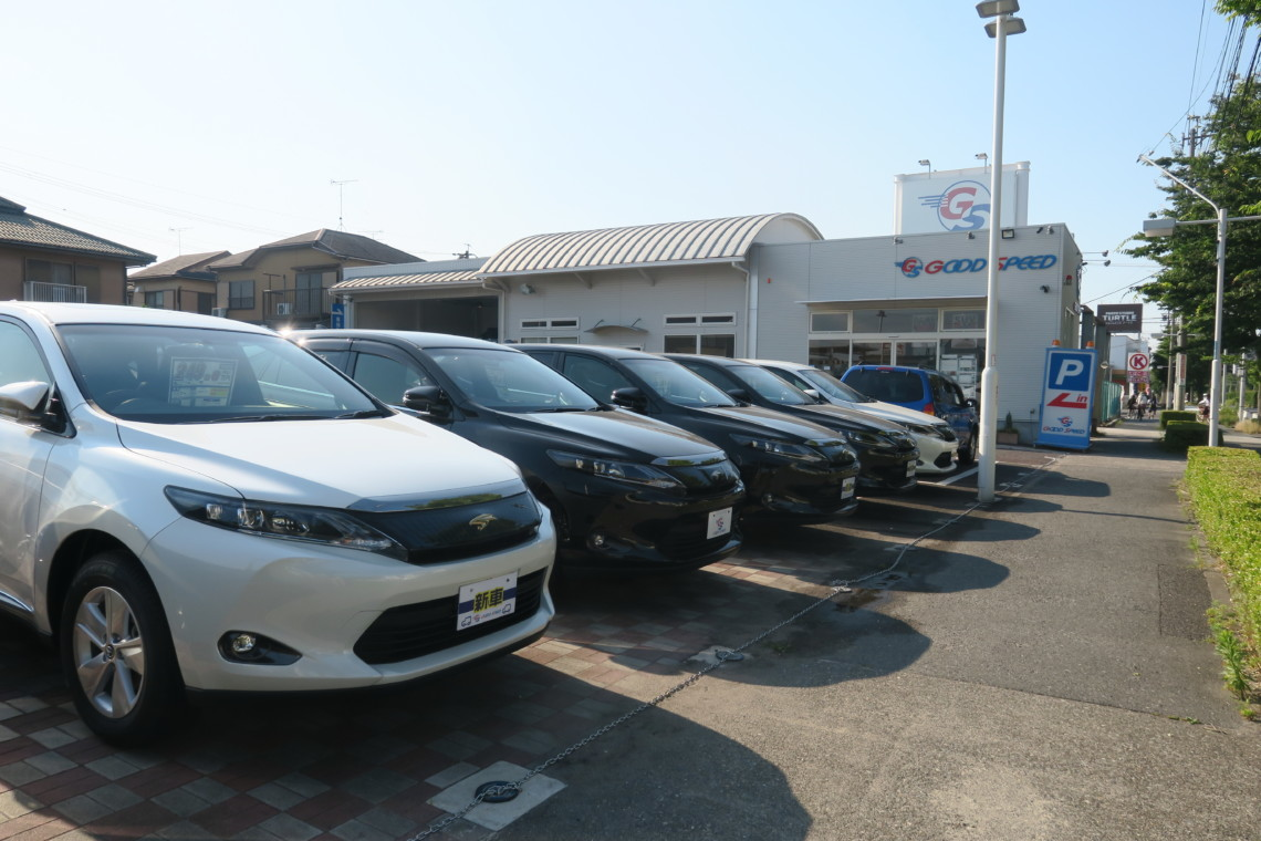 中川・港 SUV 専門店 店舗画像